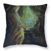 World Outside My Window Throw Pillow