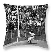 World Series, 1955 Throw Pillow