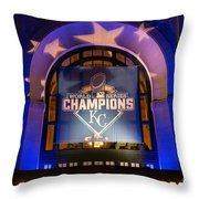 World Series Champs Throw Pillow