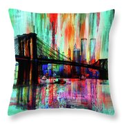 World Trade Center 01 Throw Pillow