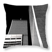 World Trade Center Pillars Throw Pillow