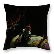 World Traveler Pinocchio Throw Pillow