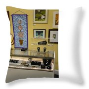World-view Throw Pillow