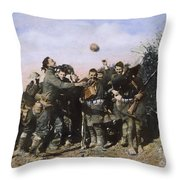 World War I: Armistice Throw Pillow