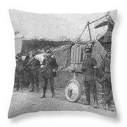 World War I: Aviators, 1914 Throw Pillow