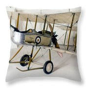 World War I: British Plane Throw Pillow