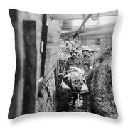 World War I: France Throw Pillow