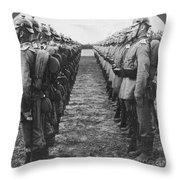 World War I: German Troop Throw Pillow by Granger