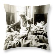 World War I: Nurse Throw Pillow