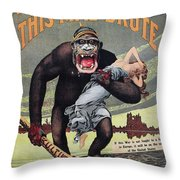 World War I: Recruitment Throw Pillow by Granger