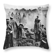World War I: Russians 1914 Throw Pillow