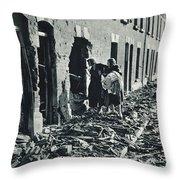World War II: Blitz, 1940 Throw Pillow
