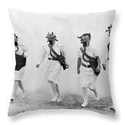World War II: Nurses Throw Pillow by Granger