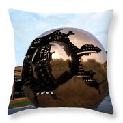 World Within A World Throw Pillow