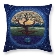 World Within Worlds Throw Pillow