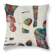Worldly Women Throw Pillow