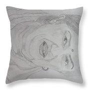 Worlds Best Singer Lata Mangeshkar Throw Pillow