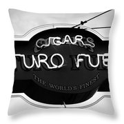 Worlds Finest Cigar Throw Pillow by David Lee Thompson