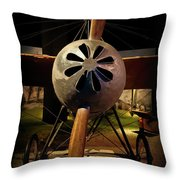 World's First 'fighter' Aircraft 1914 Throw Pillow