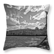 World's Longest Map Of Route 66 #2 Throw Pillow