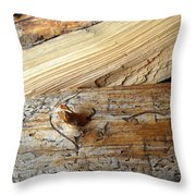 Worm Language Throw Pillow