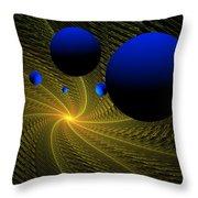 Wormhole Throw Pillow