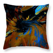 Wormhole Rupture Throw Pillow
