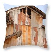 Worn Down Throw Pillow