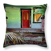Worn Out Welcome Throw Pillow