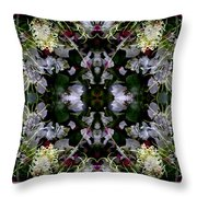 Wornhole Mandala Throw Pillow