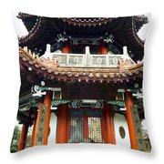 Worship Temple Throw Pillow