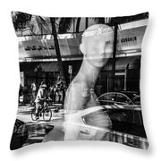 Worth Ave Reflections 0484 Throw Pillow