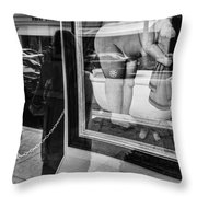 Worth Ave Reflections 0488 Throw Pillow