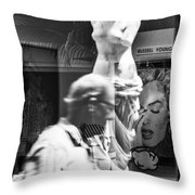 Worth Ave Reflections 0496 Throw Pillow