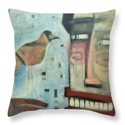 Worth Two... Throw Pillow