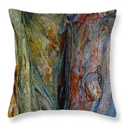 Would You Knock First Throw Pillow