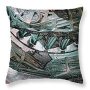 Wound Tight Throw Pillow