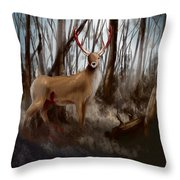 Wounded Wanderer Throw Pillow