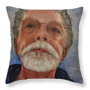 Wounds That Don't Heal Throw Pillow