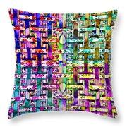 Woven Abstract Throw Pillow