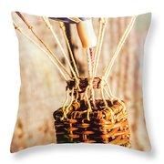 Woven Air Craft Throw Pillow