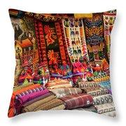 Woven Artistry  Throw Pillow