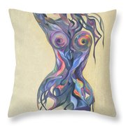 Woven Beauty Throw Pillow