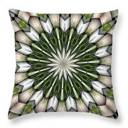Woven Circle Throw Pillow