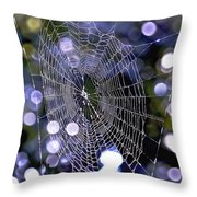 Woven Devotion Throw Pillow