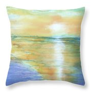 Wow Sunset Throw Pillow
