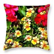Wp Floral Study 1 2014 Throw Pillow