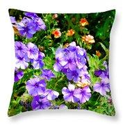 Wp Floral Study 2 2014 Throw Pillow