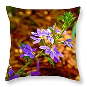 Wp Floral Study 4 2014 Throw Pillow