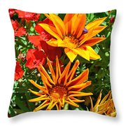 Wp Floral Study 5 2014 Throw Pillow